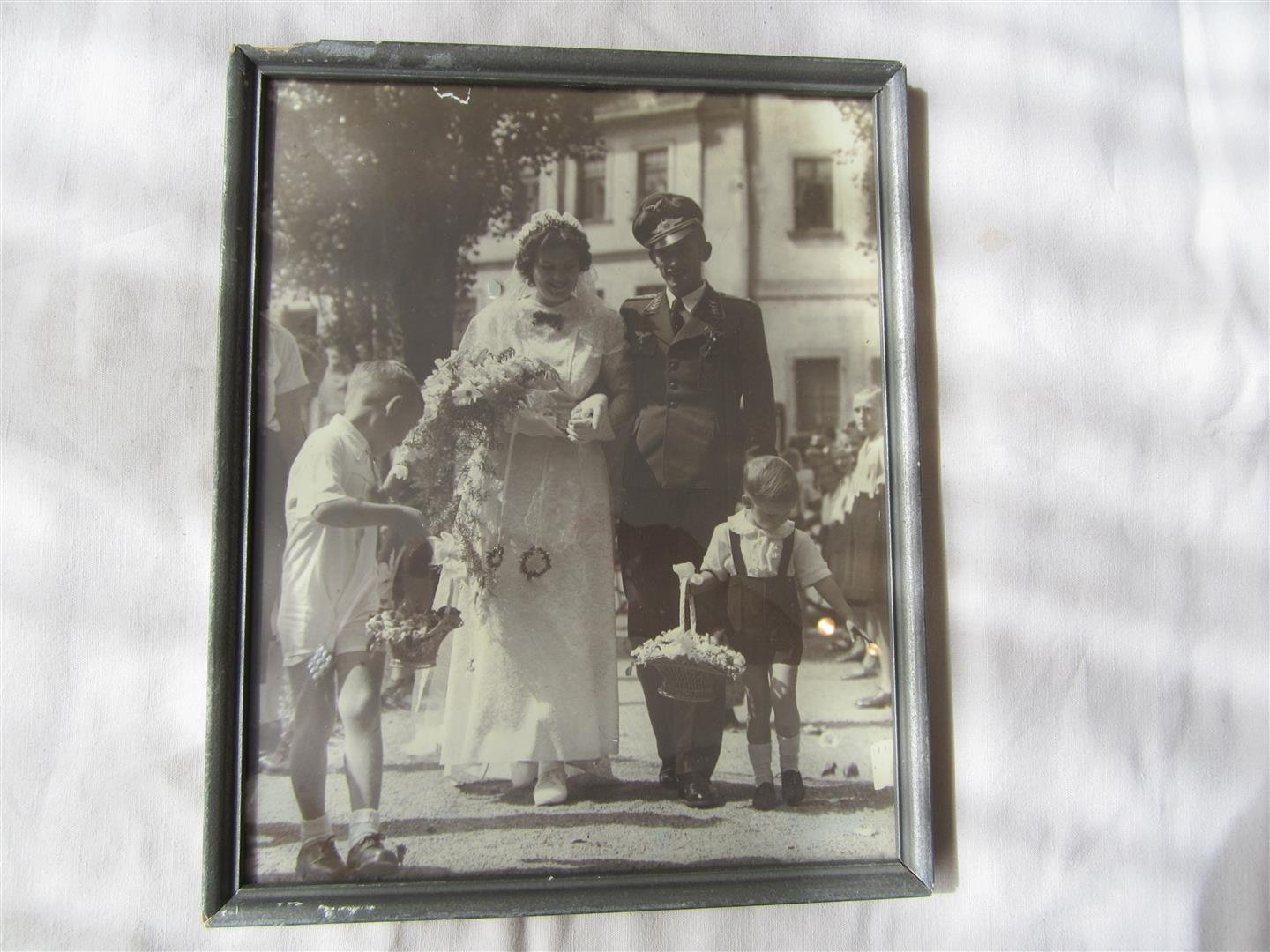 WW2 WL NCO's Wedding Photo